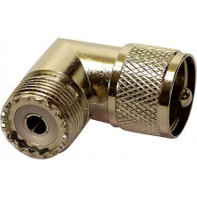 CABLE CONNECTOR ADAPTOR FOR CB HAM RADIO NC-558 PL259 / SO239 L