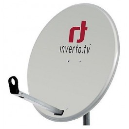 Satellite Dish ANTENNA INVERTO GRAFIT 80CM HIGH QUALITY NC+ POLSAT SKY WHITE