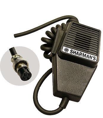 cb radio microphone coffin mic with 4pin plug tti midlands. Black Bedroom Furniture Sets. Home Design Ideas