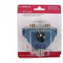 ANTENNA SWITCH CX-201 - CX-201 2WAY COAX ANTENNA SWITCH
