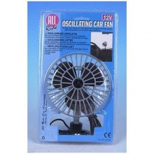"All Ride 5"" 12V Oscillating Car/Truck/Lorry Fan"