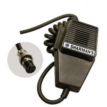 CB RADIO MICROPHONE COFFIN MIC WITH 4PIN PLUG TTI MIDLANDS UNIDEN WIRING