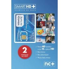 TELEWIZJA NA KARTE NC+ Smart HD 2 MIESIĄCE OGLĄDANIA FREE CYFROWY POLSAT
