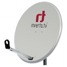 Satellite Dish ANTENNA INVERTO GRAFIT 80CM HIGH QUALITY NC+ POLSAT SKY WHITE