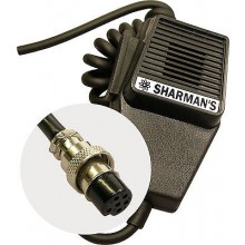 SHARMAN'S DM520P6 COFFIN MIC W/ 6PIN PLUG (MAYCOM/MIDLAND)