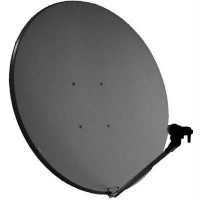 Aluminium Satellite Dish 100cm Orbital with Lifetime Warranty For SKY , POLSAT
