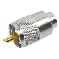 CB AM RADIO CONNECTOR 4 x PL259 TEFLON & GOLD TIP 6MM RESISTANT TO TEMPERATURE