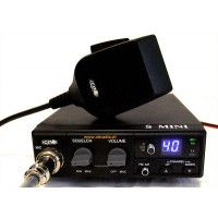 CB MOBILE RADIO CRT S-MINI MULTI-STANDARD 40 channel FM / AM
