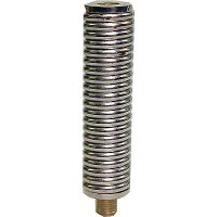 A medium duty steel spring designed to fit below CB mobile antenna