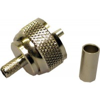 CB ANTENNA AT-7501AN Male PL259 Crimp Connector Plug For RG58 (1 Pack)