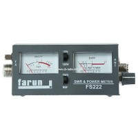 CB RADIO ANTENNA SWR POWER METER FARUN FS 222