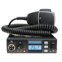 CB Radio Dual 12V 24V Car Truck Lorry TTI TCB 565 Multi 40 Channel AM FM