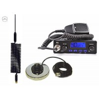 CB RADIO TTI TCB-550 + SPRINGER BLACK + MAGNES BASE  CB STARTER KIT