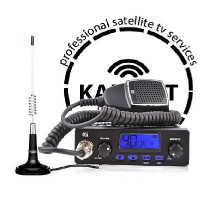 CB Starter Kit TTI TCB-550 Multi-Standard CB Radio + CB Antenna 874