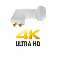 LNB Twin Inverto 0.1dB Full HD 3D 4K Sky Freesat Astra 19 Astra 28 Hotbird NC+