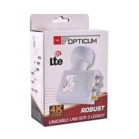 OPTICUM UNICABLE LNB 3 LEGACY 4K SATTELITE NC+ CYFROWY POLSAT SKY SCR 40mm