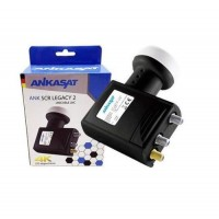 UNICABLE LNB 2 LEGACY 4K SATTELITE NC+ CYFROWY POLSAT SKY SCR 40mm ANKASAT