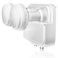 Quad LNB Opticum Premium Monoblock Robust 0,1db HDTV Digital FULL HD 3D