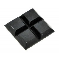 RUBBER FEET WITH ADHESIVE SET OF 4