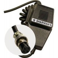 SHARMAN'S DM520P1 COFFIN MIC WITH 4PIN PLUG (STANDARD)