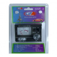 CB RADIO ANTENNA SWR 2 PWR POWER METER CRT 10/100W 50 OHMS FREQUENCY 26-27 mHz