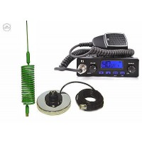 TTI TCB-550 CB RADIO + MINI SPRINGER GREEN + MAG, CB STARTER KIT, GIFT, QUALITY