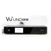 VU + Uno 4K SE 1x DVB-S2 FBC Twin Tuner PVR ready Linux Enigma2 Full Pakiet Polskiej TV
